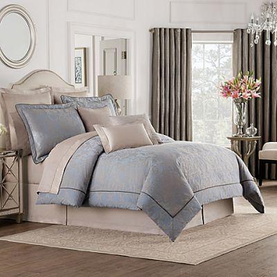 Valeron Gizmon Queen Comforter Set In Taupe/Grey