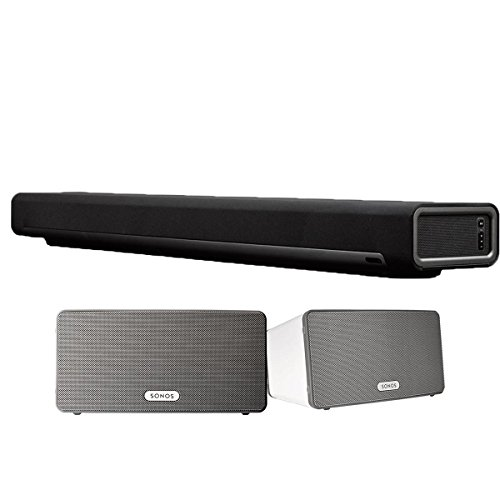 Sonos Playbar Tv Soundbar Wireless Streaming And Music Speaker Works With Alexa
