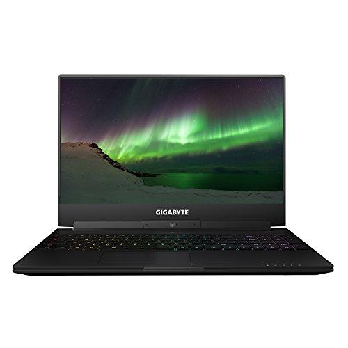 "GIGABYTE Aero 15W-BK4 15.6"" Thin Bezel FHD IPS 7th Gen Intel i7-7700HQ, GeForce GTX 1060 6GB, 16Gx1 RAM DDR4 2400, M.2 SATA 512GB SSD, Windows 10 Gaming Laptop (Black) Ultra Thin Metal Chassis"