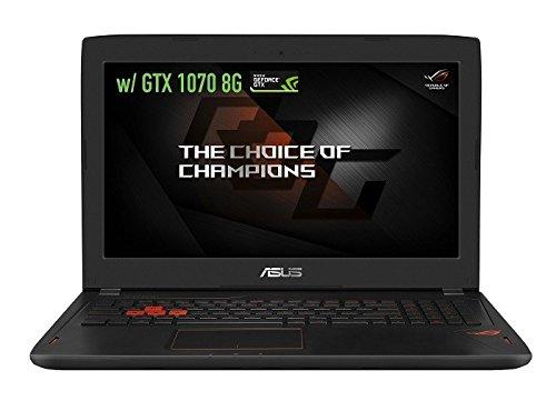 "Asus ROG Strix GL502VM High Performance 15.6"" Laptop (Intel Core i7 7700HQ, 12GB RAM, 1TB HDD, NVIDIA GeForce GTX 1060, 15.6"" FHD (1920 x 1080) display with G-S"
