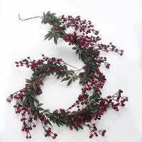 Artificial Red Berry Garland...