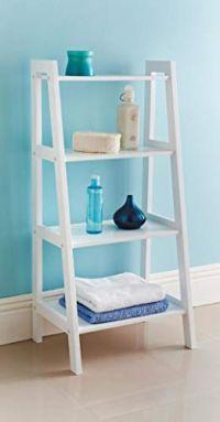 4 Tier Wooden Ladder Shelf...