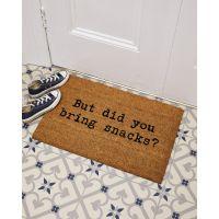 Bjarke Slogan Snacks Doormat