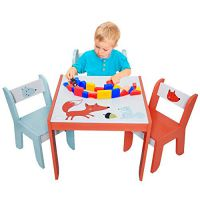 Labebe Wooden Activity Table,...