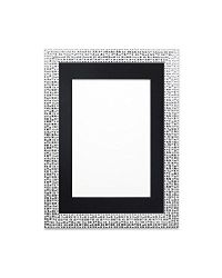 Silver Bling Frame with Black...