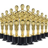 36 Pack Gold Award Trophies...