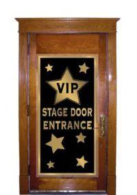 VIP Stage Door Entrance Door...