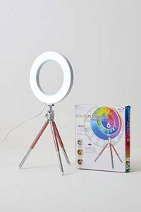 LED RGB Colour Ring Light 6...