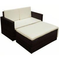 vidaXL Garden Sofa Set Seven...