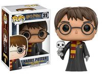 Harry Potter with Hedwig...