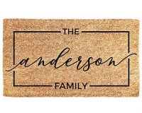 Personalised Doormat With...