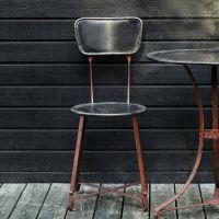 Distressed Garden Chair In...